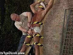 Gay porn Slave Boy Made To Squirt