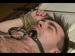 Spanking and torturing gay sex slave vid