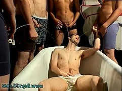 Galleries of fresh gay twinks and daddies full length Frat Piss
