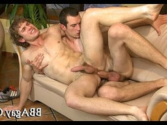 Arousing blowjob with guys