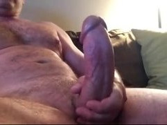 bigthickhardcock showing mature hairy beefy stud