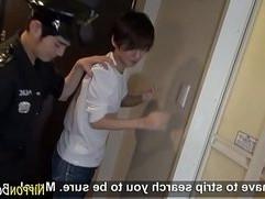 Asian twink anal fucking