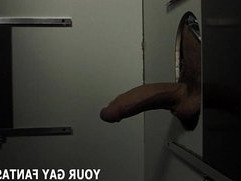 You will suck a strangers cock at this gloryhole